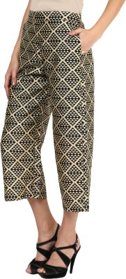 Miss Chase Regular Fit Women's Black Trousers at flipkart