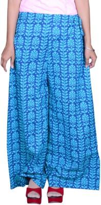 Pezzava Regular Fit Women's Blue, Light Blue Trousers