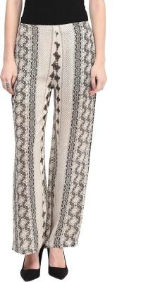 Taurus Regular Fit Women's White Trousers