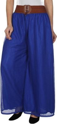 Dimpy Garments Regular Fit Women's Blue Trousers