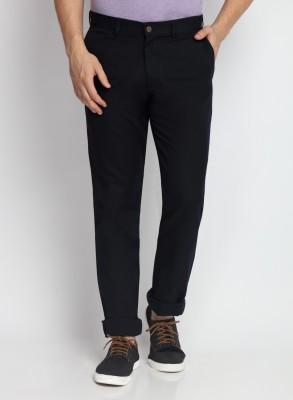 SUITLTD Skinny Fit Men's Blue Trousers