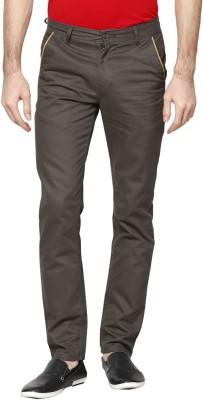 Hubberholme Slim Fit Men's Dark Green Trousers