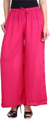 DConcept Regular Fit Women's Pink Trousers