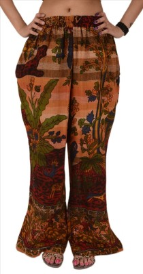 Skirts & Scarves Regular Fit Women's Brown Trousers