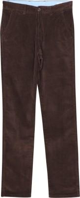 Arrow Sport Slim Fit Men's Brown Trousers