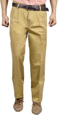 Studio Nexx Regular Fit Men's Beige Trousers