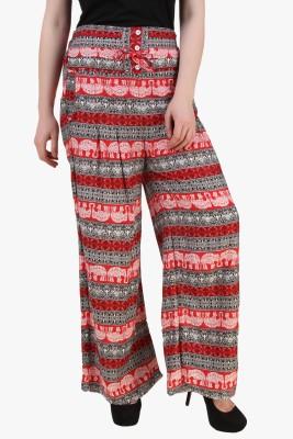 Modattire Regular Fit Women's Multicolor Trousers