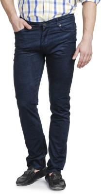 Ruace Slim Fit Men's Blue Trousers