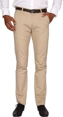 Fairro Trousers Slim Fit Men's Brown Trousers