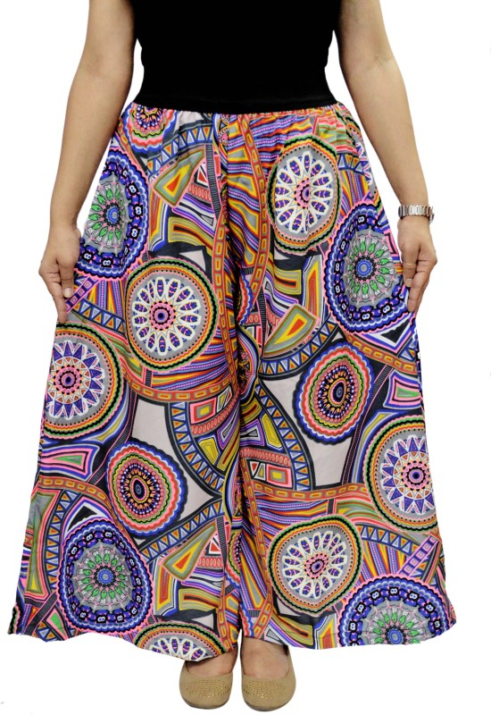 FabnFab Regular Fit Women's Multicolor Trousers