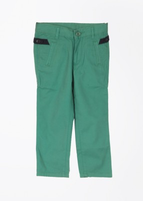 United Colors of Benetton Boy's Green Trousers
