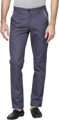 Hubberholme Slim Fit Men's Light Blue Trousers