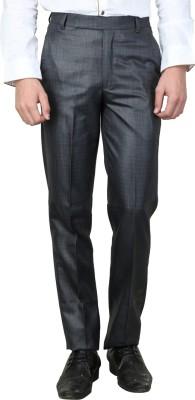 MAGNOGUY Slim Fit Men's Grey Trousers