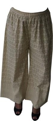Chahel Regular Fit Women's Beige Trousers