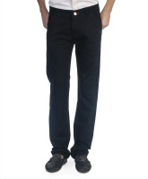 Carolus Regular Fit Mens Black Trousers