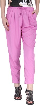 Alibi By Inmark Regular Fit Women's Pink Trousers