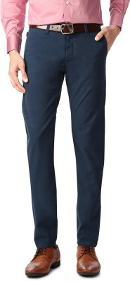 Allen Solly Slim Fit Men,s Blue Trousers