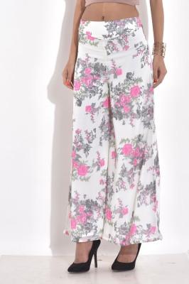 Rigoglioso Regular Fit Women's Pink Trousers