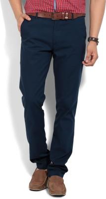 Arrow Sport Regular Fit Men's Dark Blue Trousers