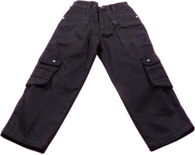 Boyhood Slim Fit Boy's Denim Black Trousers