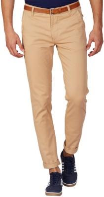 American Swan Regular Fit Men's Brown Trousers