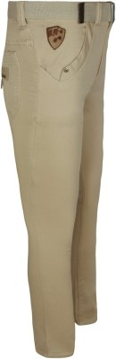 Jazzup Regular Fit Boy's Beige Trousers