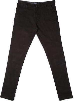 Allen Solly Regular Fit Boy,s Black Trousers