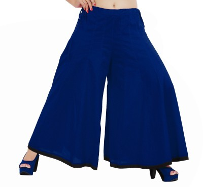 Inblue Fashions Regular Fit Women,s Blue Trousers