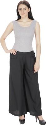 souk fashion Regular Fit Women's Black Trousers