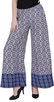 Mineral Regular Fit Women's Blue, White Trousers