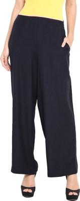 Pryma Donna Regular Fit Women's Blue Trousers
