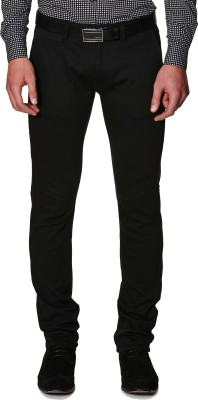 American Chinos Regular Fit Men's Black Trousers