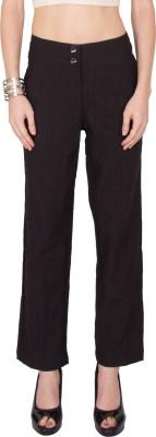Kaxiaa Regular Fit Women's Pink Trousers
