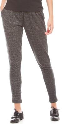 Shuffle Regular Fit Women's Grey Trousers