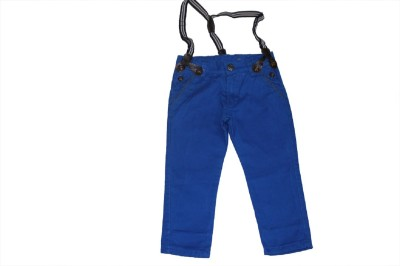 Piperz Slim Fit Boy's Blue Trousers