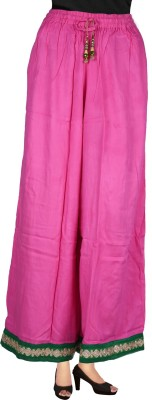 Decot Paradise Regular Fit Women's Pink Trousers