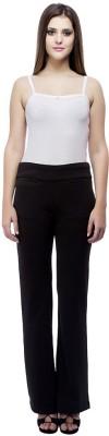 Ragdoll Regular Fit Women's Black Trousers