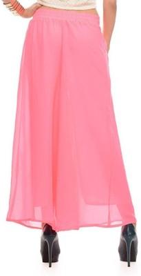 Fashion Arcade Regular Fit Women's Pink Trousers