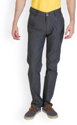 Bloos Jeans Slim Fit Men's Black Trousers