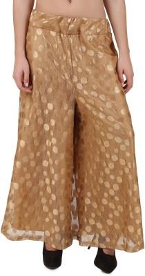 Stylishbae Slim Fit Women's Gold Trousers