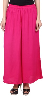 Raziela Regular Fit Women's Pink Trousers