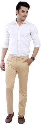 Devis Regular Fit Men's Beige Trousers