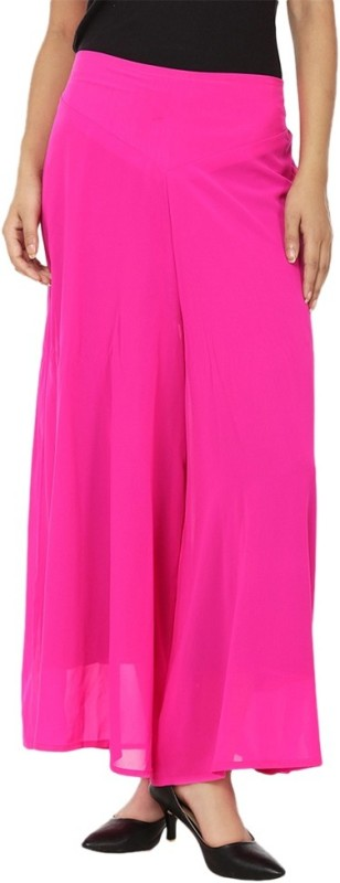Hardys Regular Fit Women's Pink Trousers