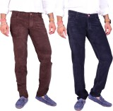 4 Seasons Skinny Fit Men's Brown, Dark B...