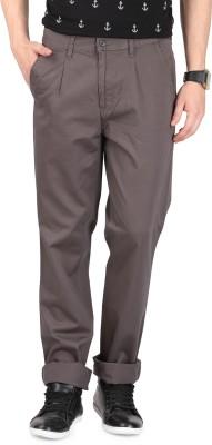FR Regular Fit Men's Grey Trousers