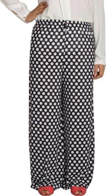 Shahfali Regular Fit Women's Black Trousers