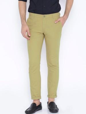 Jhon Diego Slim Fit Men's Multicolor Trousers