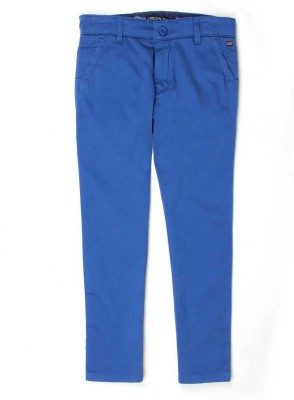 London Fog Regular Fit Boy's Blue Trousers