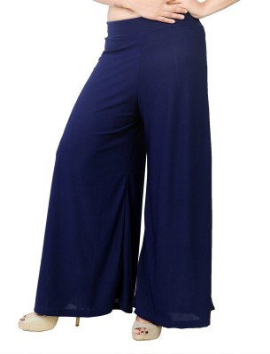 Edge Plus Regular Fit Women's Dark Blue Trousers