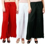 Haniya Regular Fit Women's Red, Black, W...